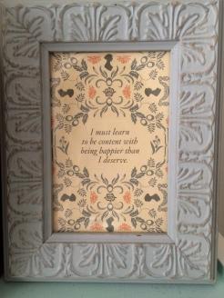 Postcard and frame (The Lady Jane - Harrisonburg)