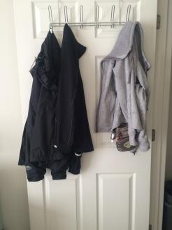 Jacket hanger (Bed bath & beyond)