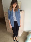 Denim shirt (Urban Outfitters)