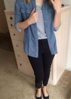 Black pants (Forever 21)