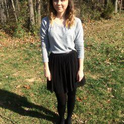 Pleated skirt (Jack Wills)