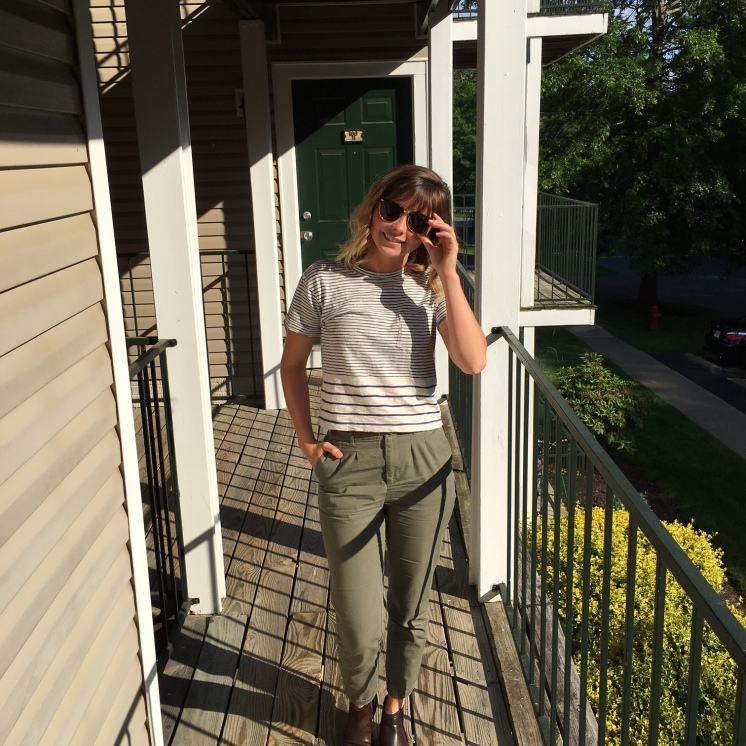 Top (Madewell), Pants (Forever 21)