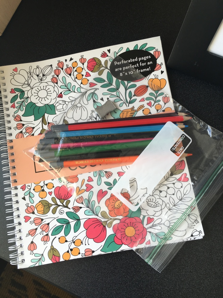 Mindfulness Coloring Book (TJ Maxx)