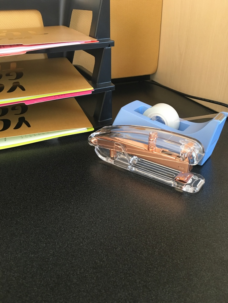 Stapler (TJ Maxx) Tape Dispenser (Target)